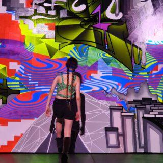ᴬᴿ ᴳʳᵃᶠᶠⁱᵗⁱ 💗 #kinderbiennale #groningermuseum #werccollective #argraffiti #graffitiwall #acolorstory #abmlifeiscolourful #colorismyjam #groningen