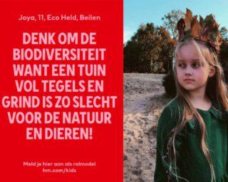#rolemodelsxhm @hm_kids #ivnnatuureducatie @ivnnatuureducatie #kinderdirecteur #biodiversiteit 🐝🐦🦋🌈🌿💕
